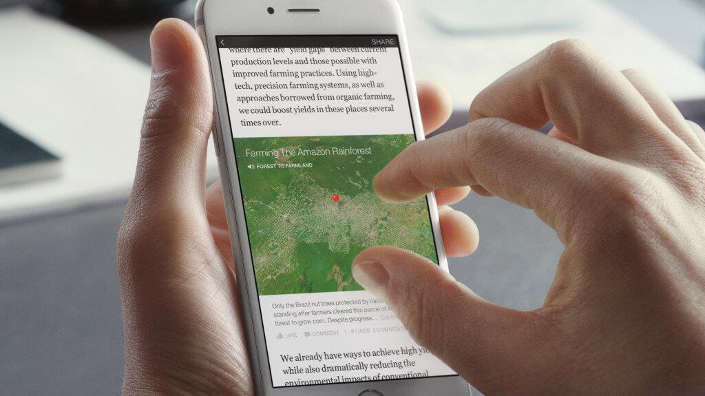 Facebook Instant Articles. El kell engedni a fantáziánk és kreatívan kell élni az új lehetőségekkel.