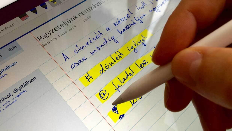 iPad-Pro-OneNote-Microsoft-handwriting_meeting notes