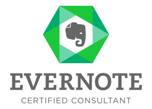 Az Evernote saját képzése utána Evernote Certified Consultant certificate szerezhető